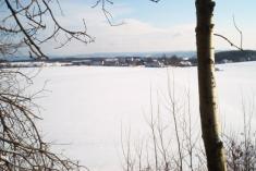 Braníškov v lednu 2001